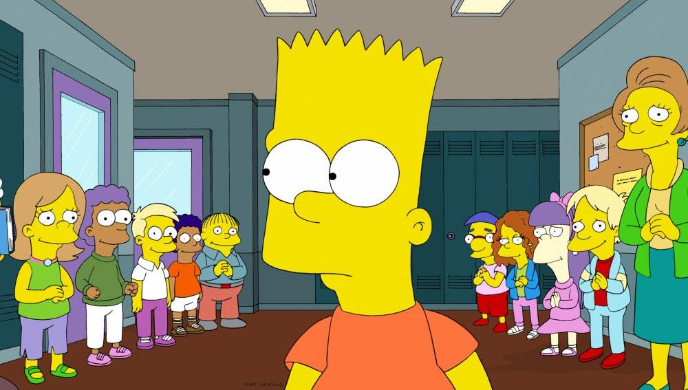 Los Simpson C518 'Un examen antes de esforzarse'