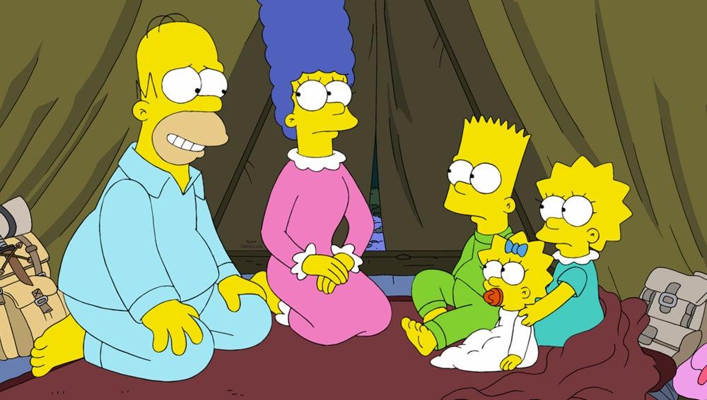 Capítulo 517 Los Simpson 'Homer va a la escuela de preparacionismo'