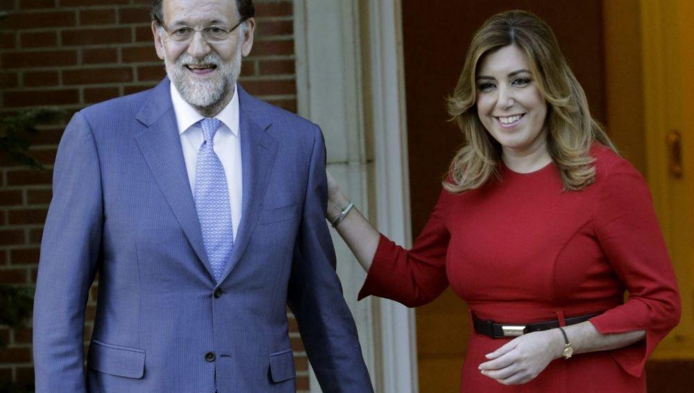 Mariano Rajoy y Susana Díaz, a las puertas de la Moncloa