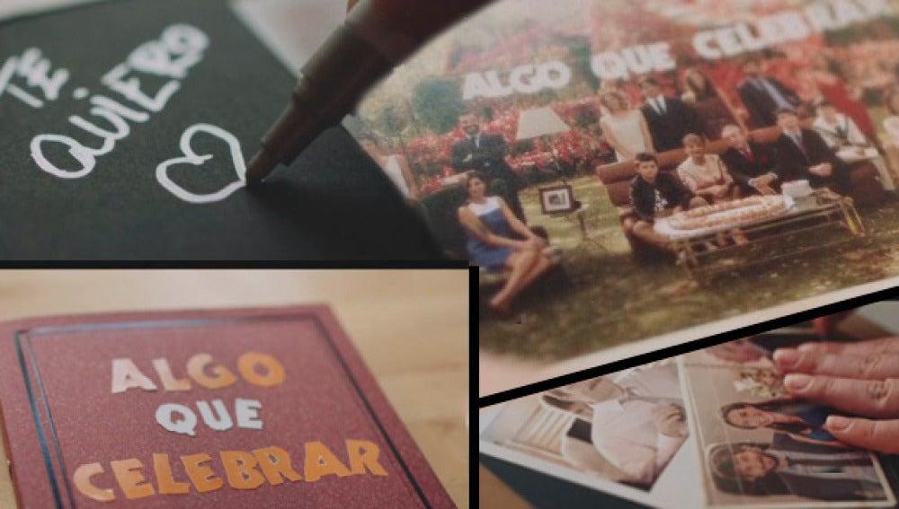 Las primeras imágenes de la cabecera de 'Algo que celebrar'