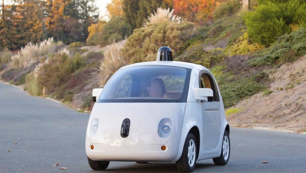 Prototipo final del coche de Google (23-12-2014)