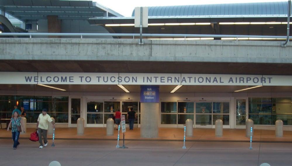 Aeropuerto internacional de Tucson (Arizona).