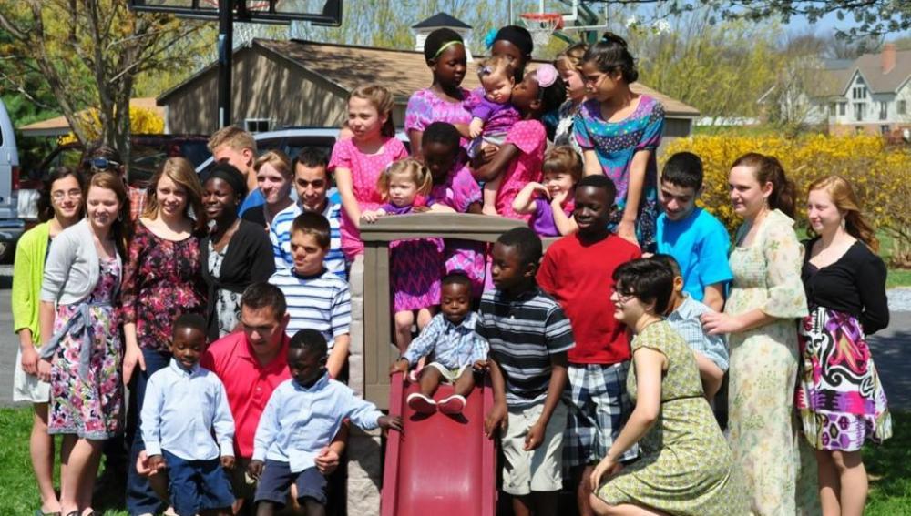 Los 34 hijos de la familia Briggs