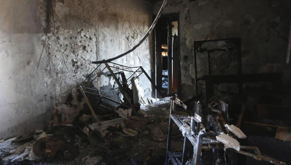 Muere un niño en un incendio en Córdoba