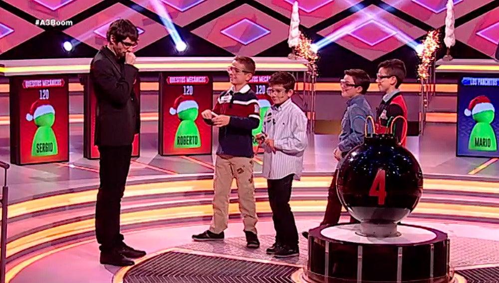 Antena 3 tv especial ni os en boom for Boom junior juego de mesa