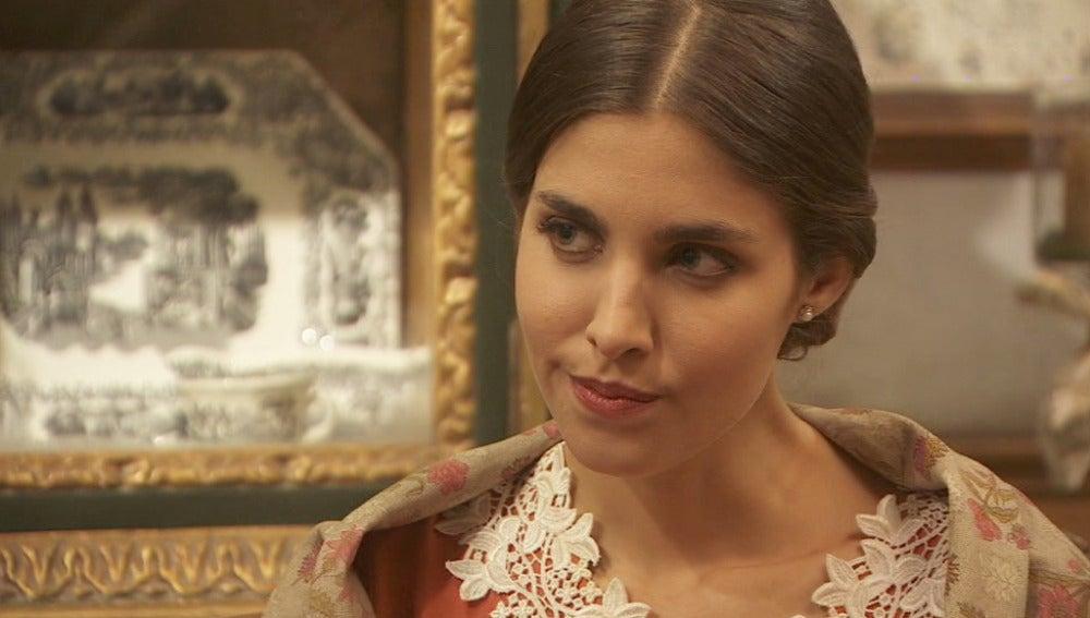 Amalia quiere quitarse a Inés del medio