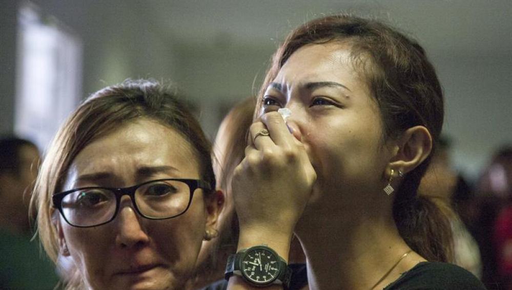 Familiares acaban de conocer la noticia de la desaparición