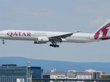 Avión de Catar Airways