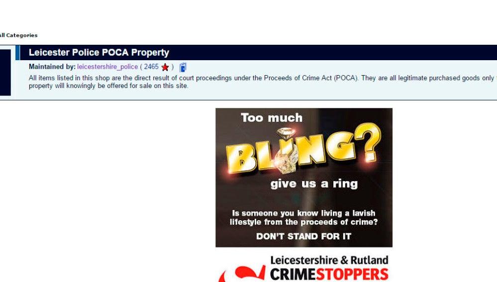 Iniciativa de la policía de Leicestershire