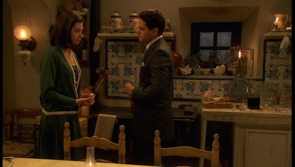 Tristán y María. Puente Viejo