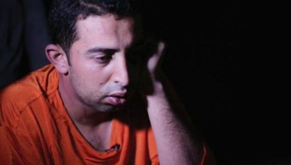 Piloto jordano secuestrado