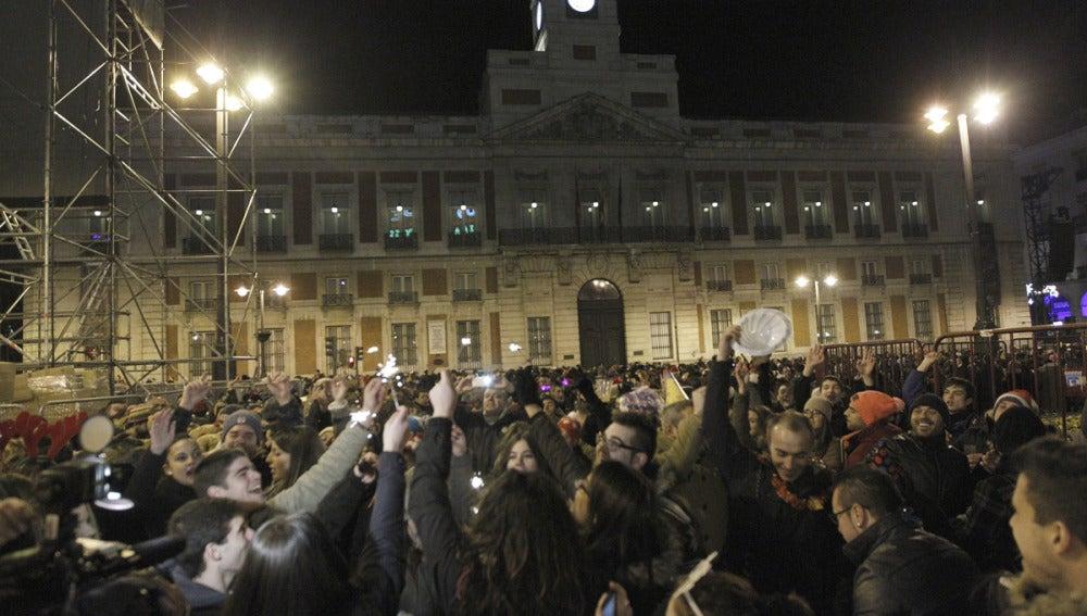 Ensayo en Madrid del Fin de Año