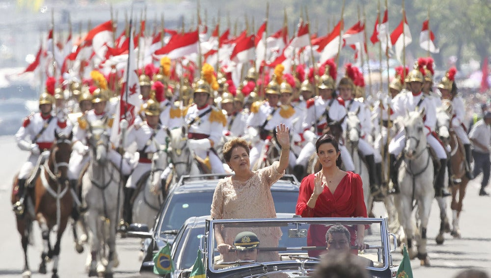 Investidura de Dilma Rousseff