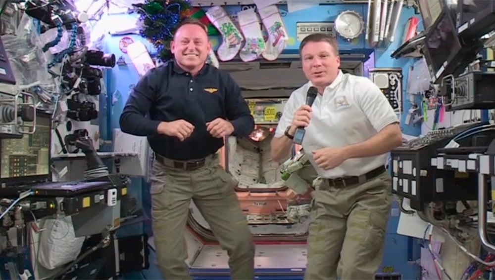 Wilmore y Virts, astrounautas de la NASA