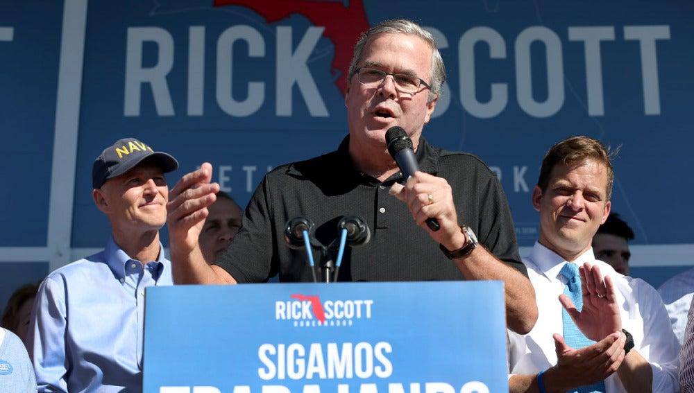 El gobernador de Florida, Jeb Bush
