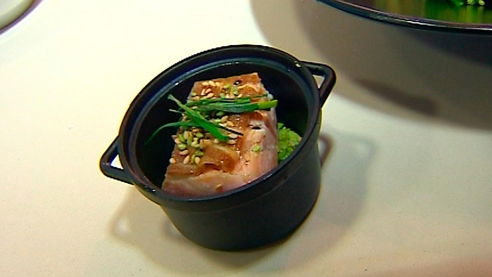 El salmón de Bárbara Amorós