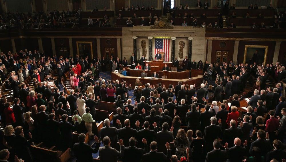 El Congreso de los Estados Unidos, ahora con mayoría republicana