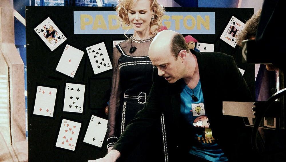Nicole Kidman y Jandro en El Hormiguero 3.0