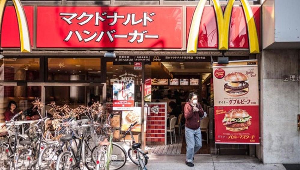 Establecimiento de Mc Donald´s en Japón.