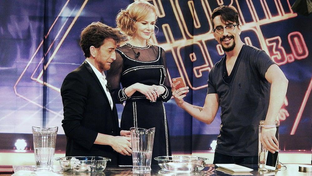 Pablo Motos, Nicole Kidman y Marron en El Hormiguero 3.0