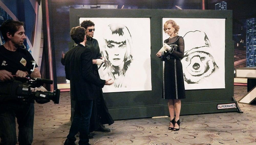 El Hombre de Negro, Nicole Kidman, Pablo Motos en El Hormiguero 3.0
