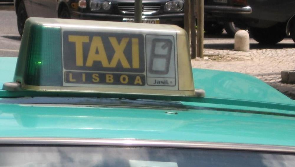 Taxi en Lisboa