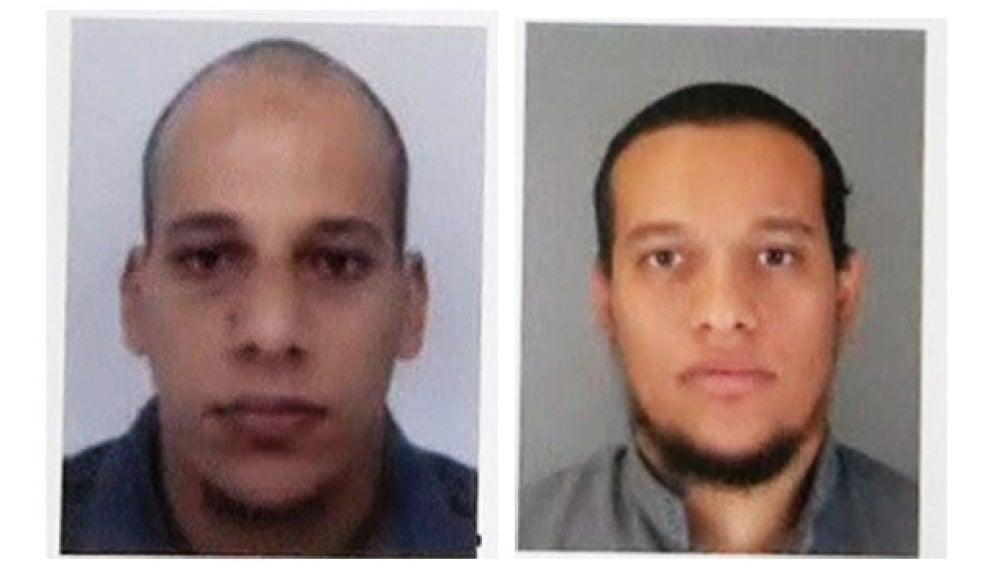 Los dos sospechosos de la masacre en el Charlie Hebdo