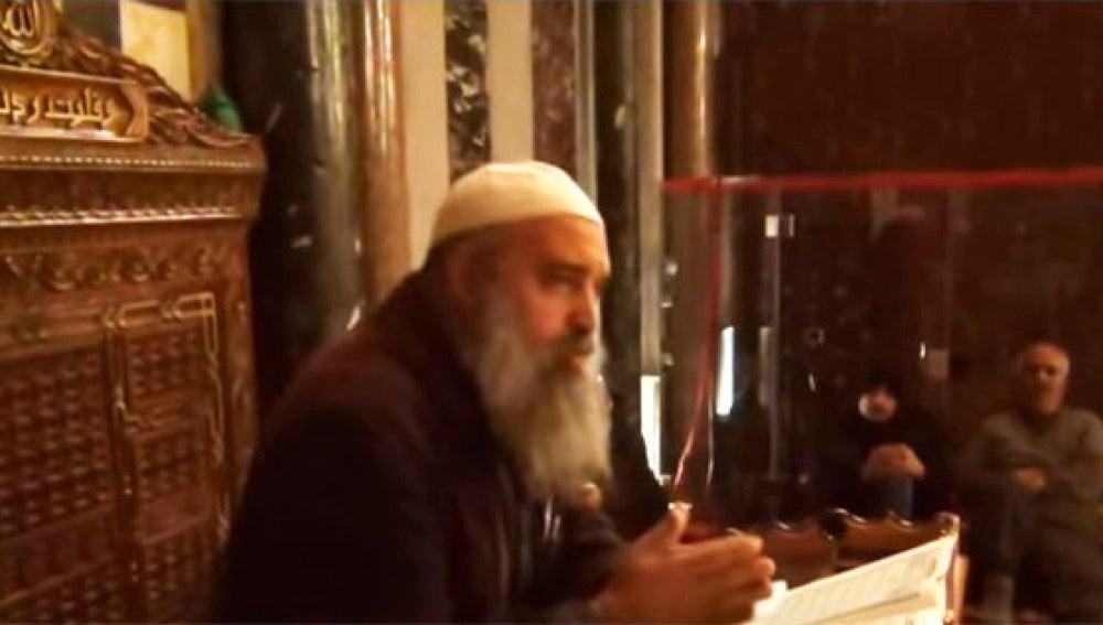 El jeque palestino Jaled Al Maghrabi.