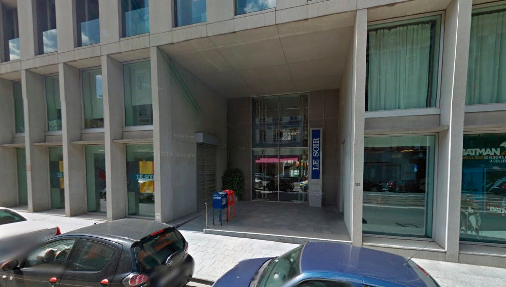 Redacción de Le Soir en Bruselas