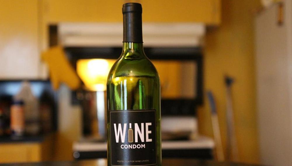 Condones para el vino, ¿un buen invento?