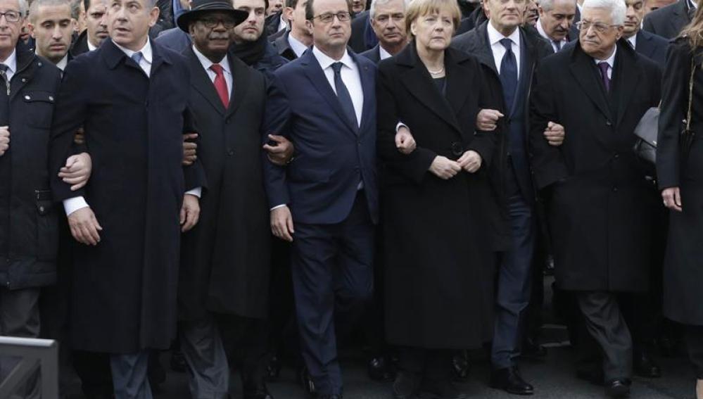 Los líderes mundiales, contra el terrorismo