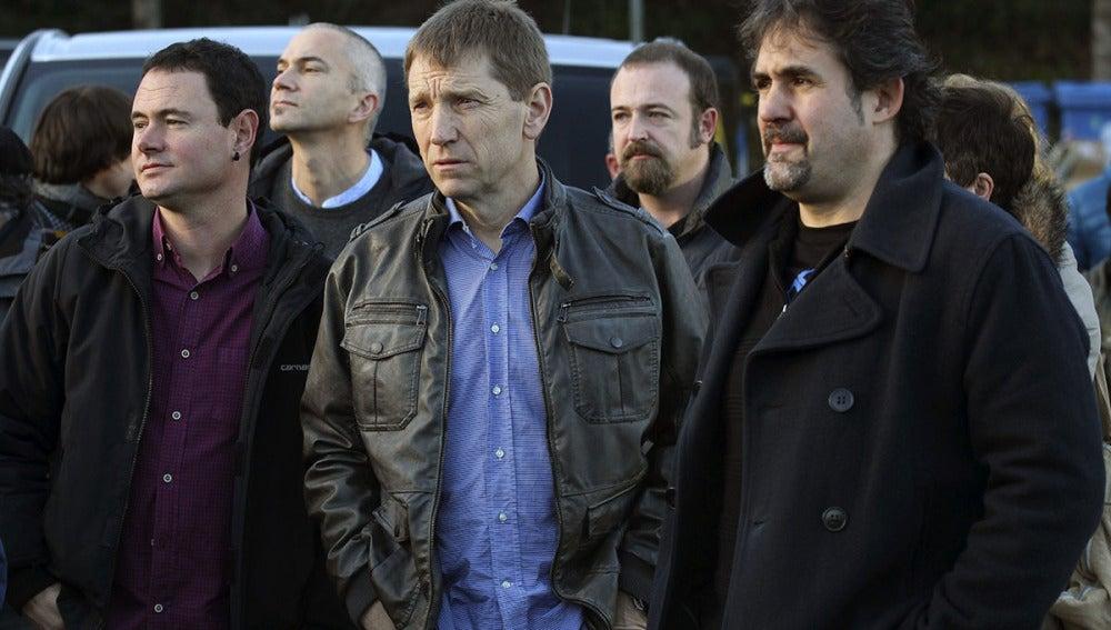 Los líderes de la izquierda abertzale apoyan a los acusados