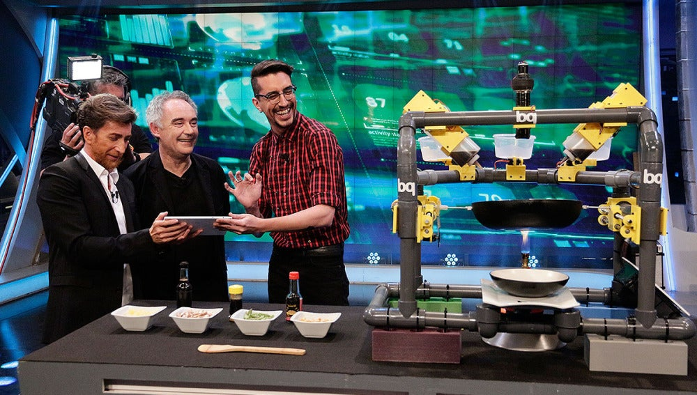 Ferran Adrià, Pablo Motos y Marron en El Hormiguero 3.0