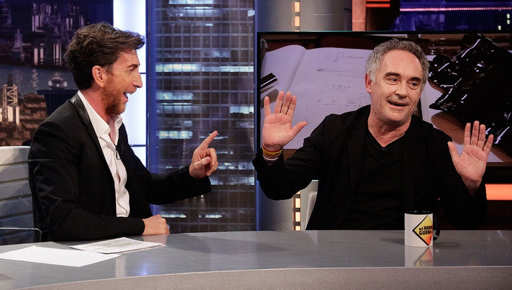 Ferran Adrià en El Hormiguero 3.0