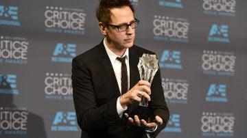 James Gunn, con el premio a Mejor película de acción por 'Guardianes de la Galaxia', con el premio a Mejor película de acción por 'Guardianes de la Galaxia'