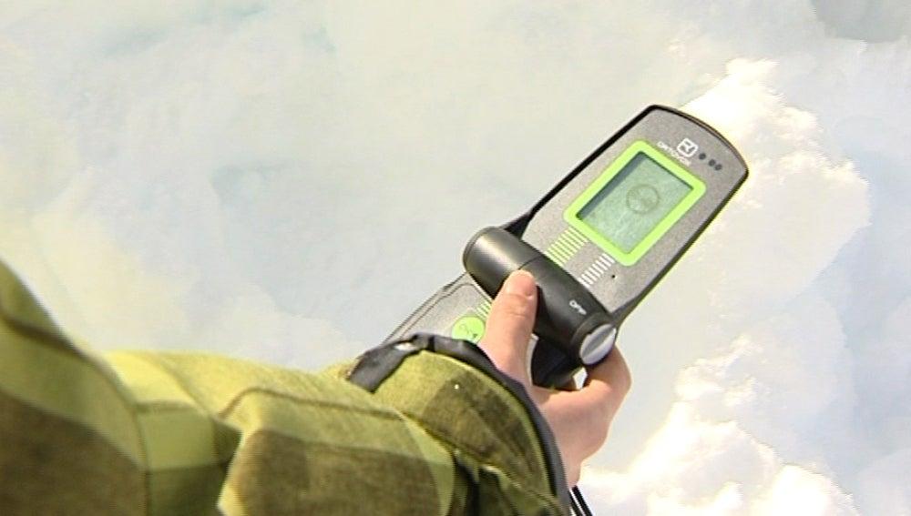 Dispositivo de localización para los aludes