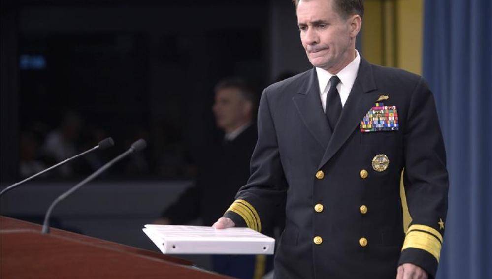 El portavoz principal del Departamento de Defensa de EEUU John Kirby