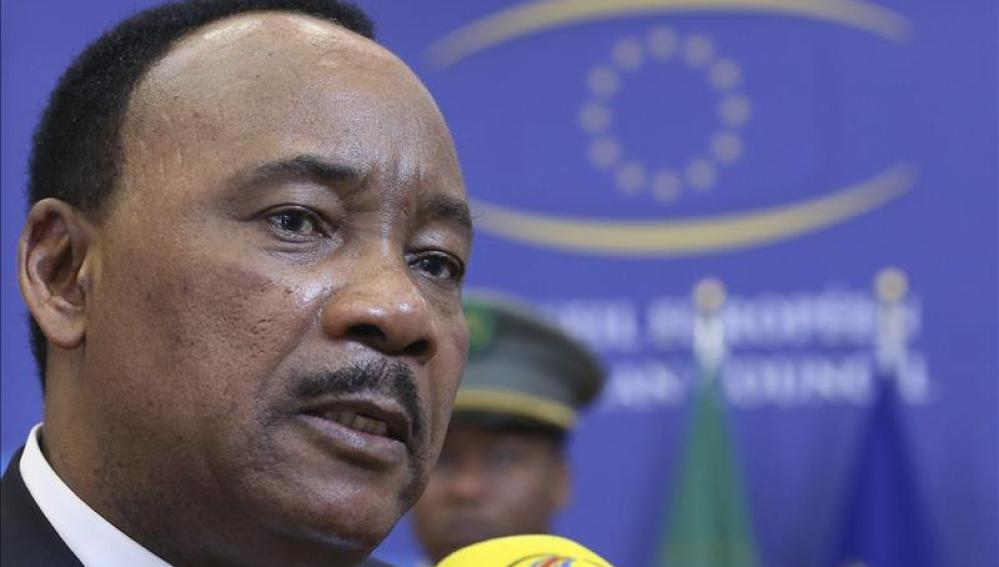El presidente de Níger, Mahmadou Issoufou.