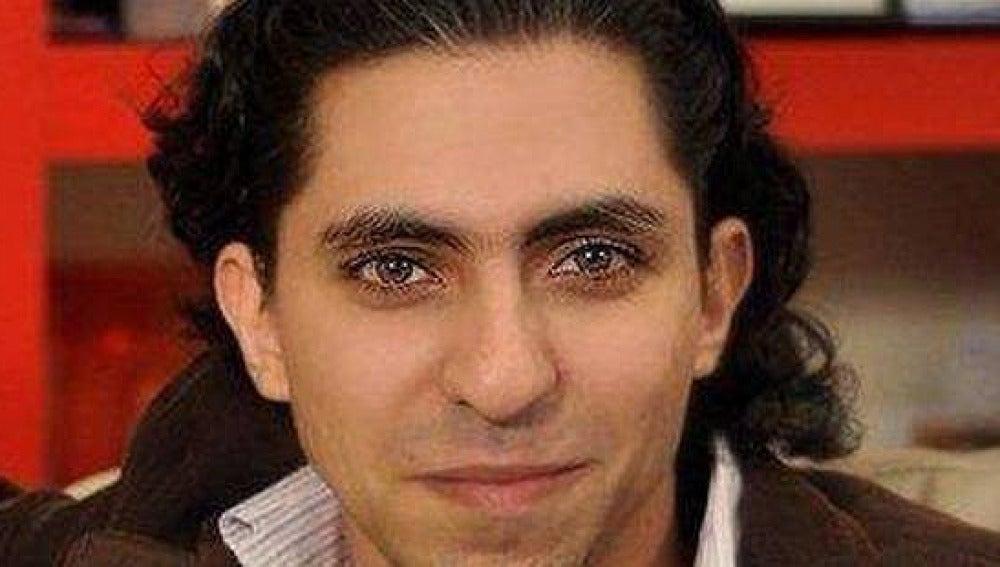 Imagen del joven activista Raif Badawi.