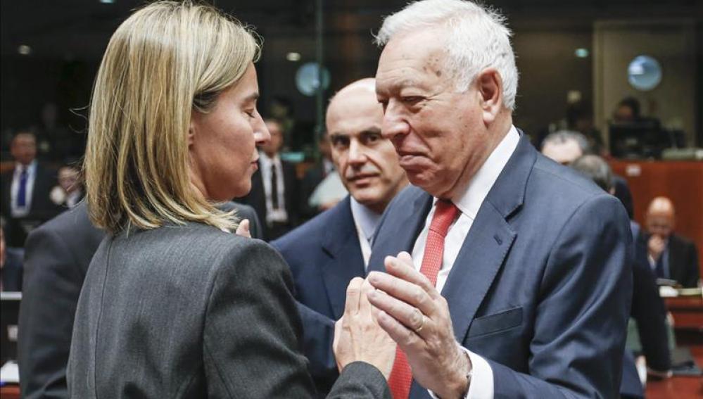 El ministro de Exteriores, García Margallo