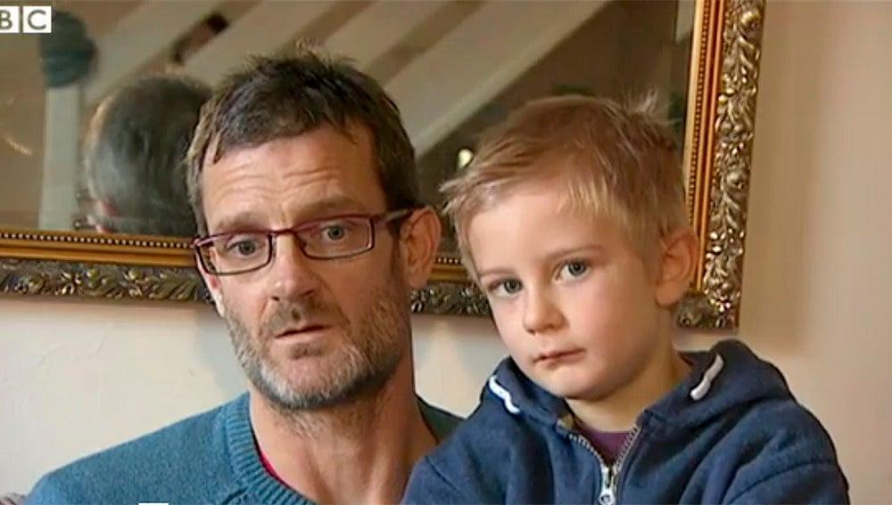 Alex Nash y su padre