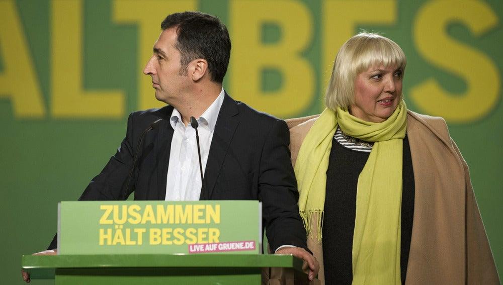 Cem Özdemir, líder de los Verdes