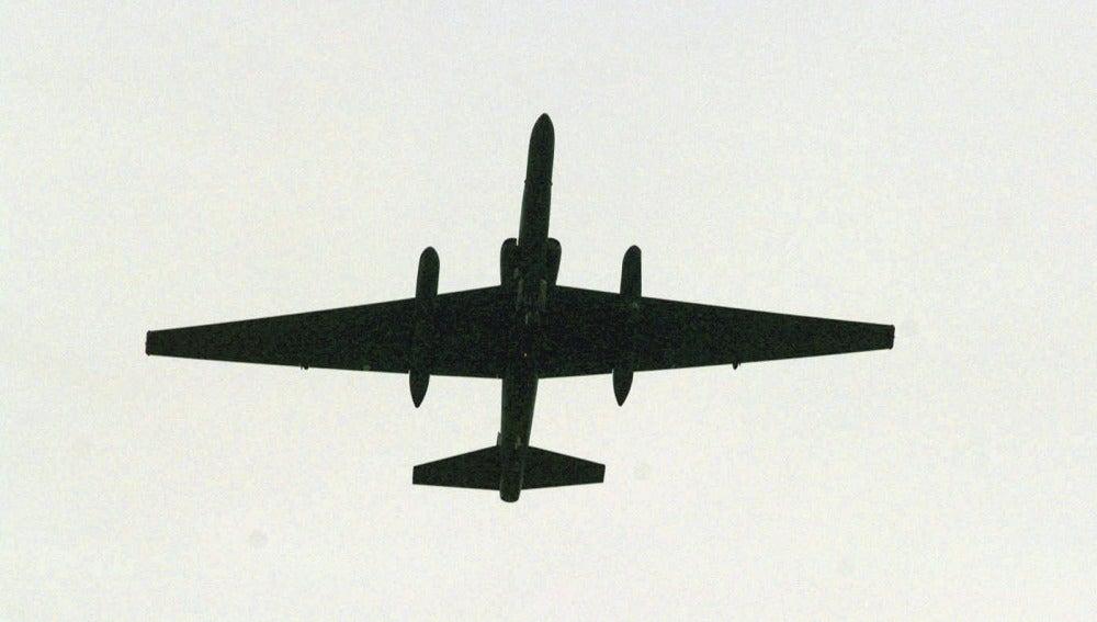 Avión U-2 durante la Guerra Fría