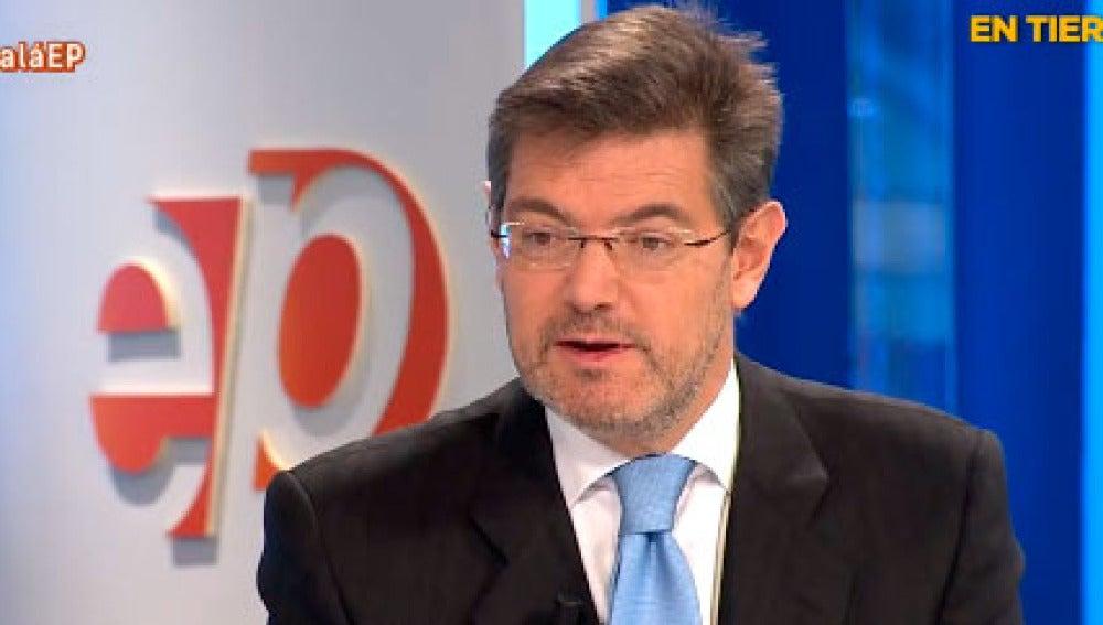Rafael Catalá, en Espejo Público