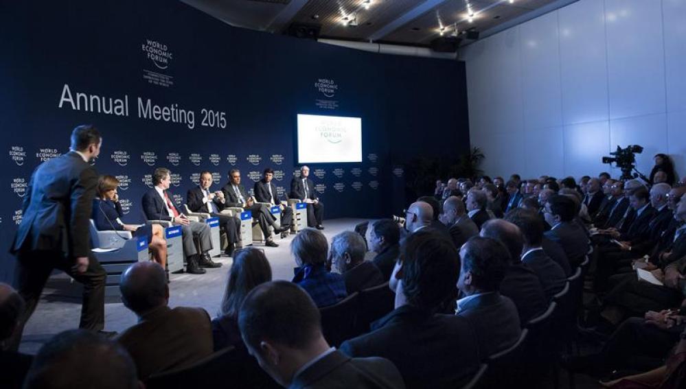 Reunión anual de líderes empresariales en Davos