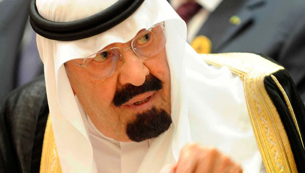 Abdalá bin Abdulaziz, en una cumbre internacional