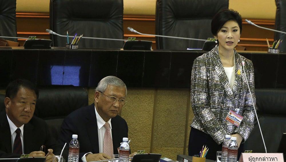 Yingluck Shinawatra, exprimera ministra tailandesa