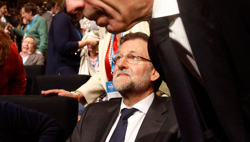 Aznar y Rajoy, en la Convención Nacional del PP