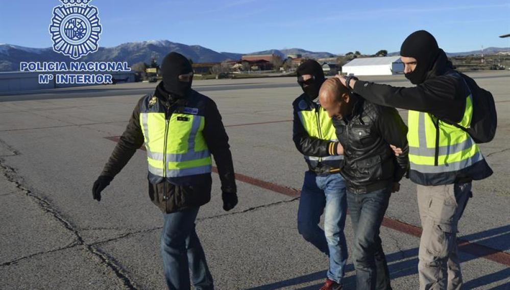 Uno de los yihadistas detenidos en Ceuta
