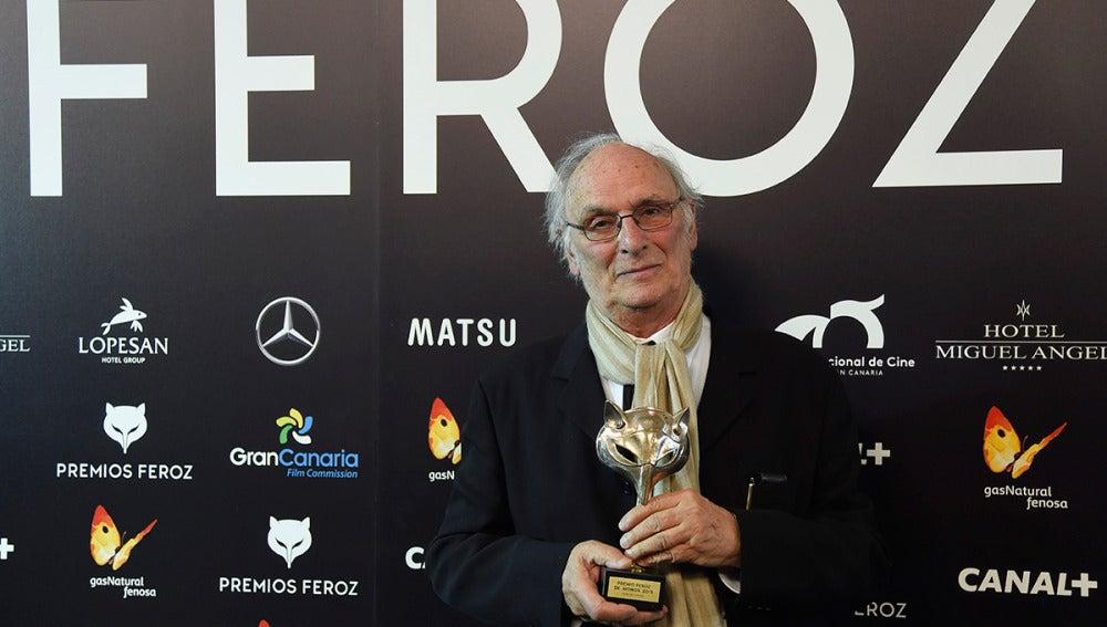 Carlos Saura, Premio Feroz de Honor 2015